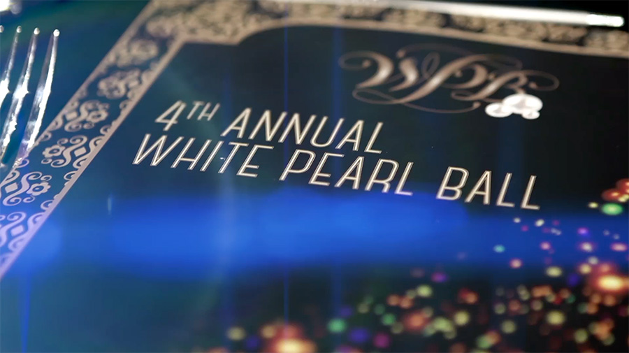 White Pearl Ball 2018. <br>Thank You!